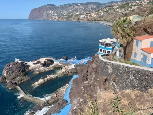 Piscinas naturais na Madeira